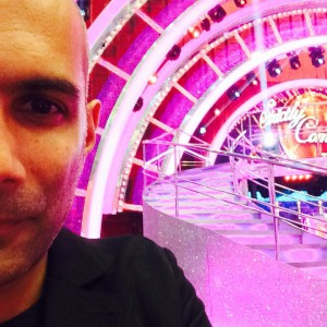 "Richard Marcel on the iconic set of ""Strictly Come Dancing"""